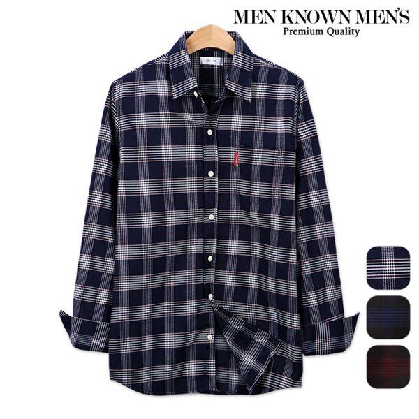 [MKM9]남자 봄 패션 디데이 마드라스 체크셔츠