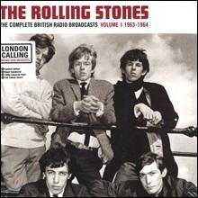 The Rolling Stones - The Complete British Radio Broadcasts Vol.1 1963-1964 [레드 컬러 LP]