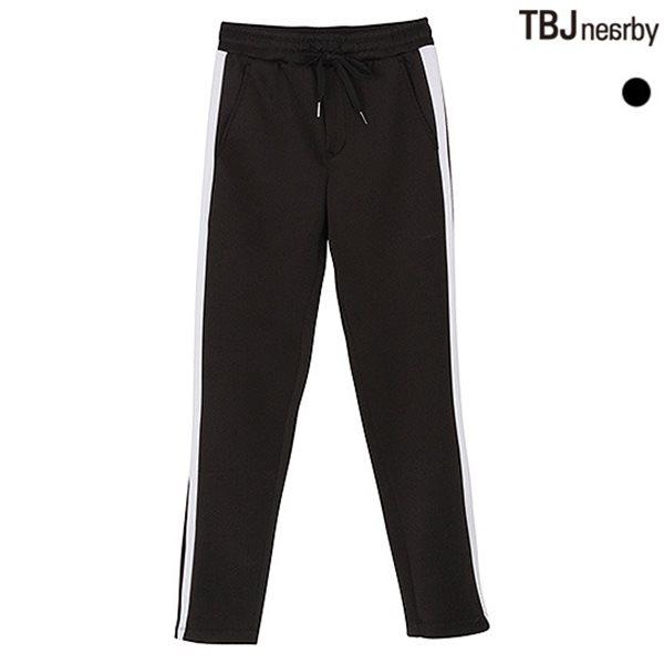 [TBJ]남성 폴리 옆선배색 트랙 팬츠(T181TP400P)