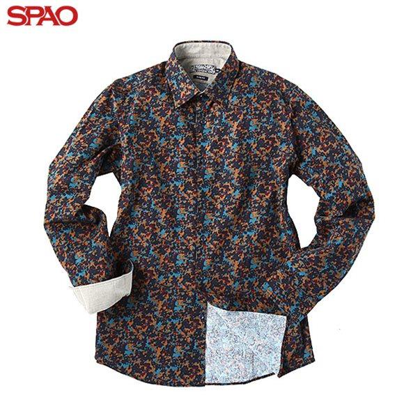 [스파오] 남성 까모변형 셔츠 (SPYC549M18)