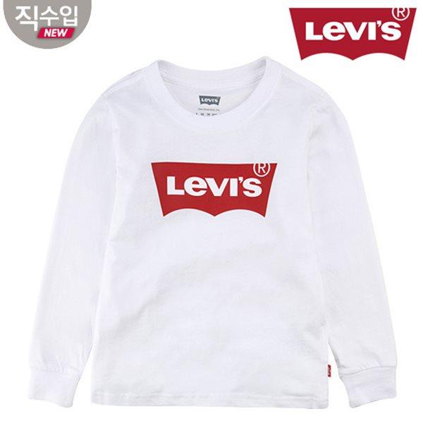 [리바이스키즈] 배트윙 티셔츠(긴팔)B VNS13QTS46 (주니어)