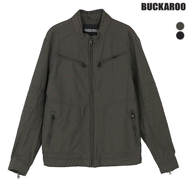 [BUCKAROO]남성 NC 옥스포드 라이더 자켓 (B181JP350P)