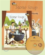 Ready Action Level 2 : Stone Soup (Drama Book + Workbook + CD)