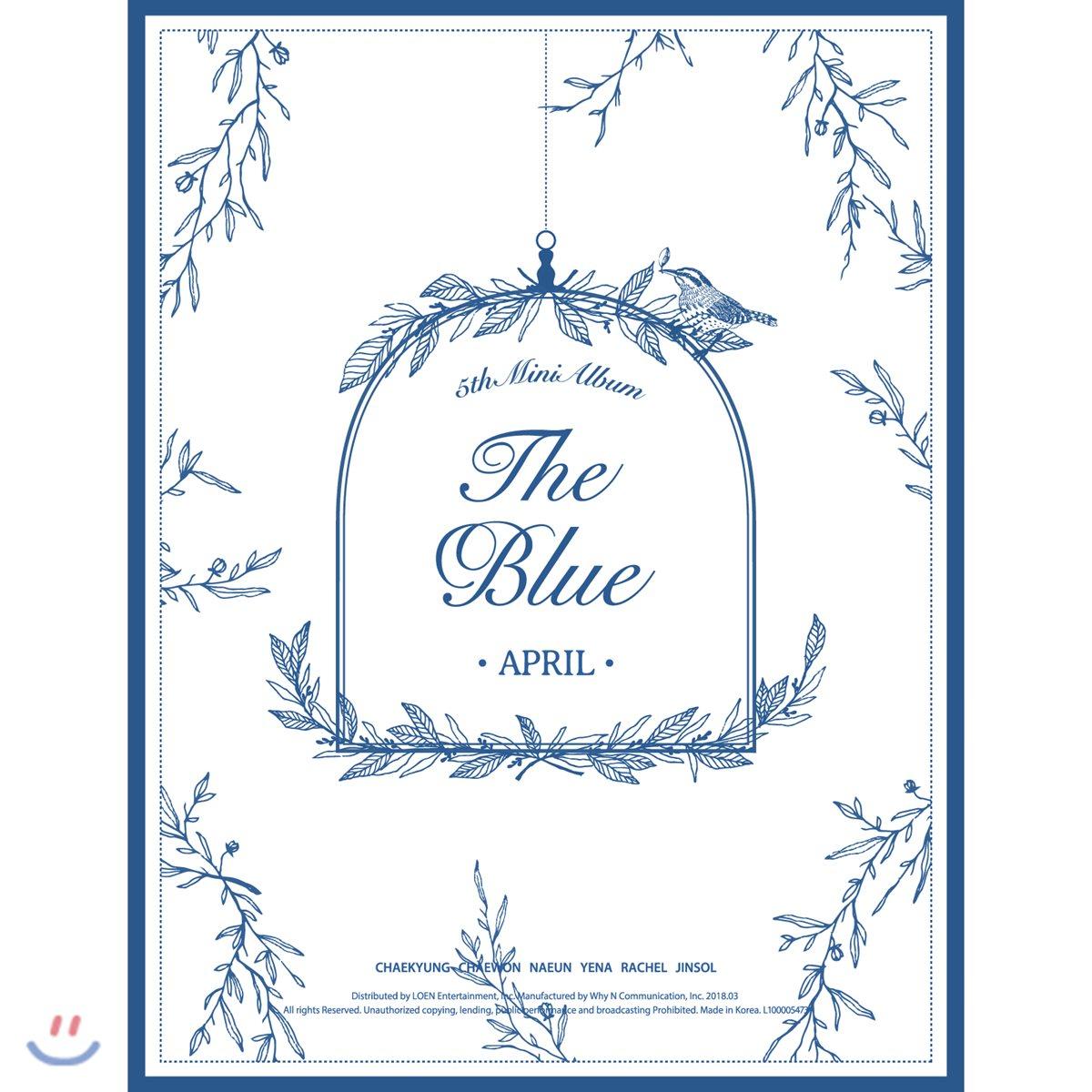에이프릴 (April) - 미니앨범 5집 : The Blue