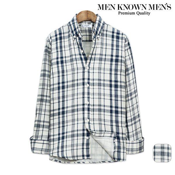 [MKM9]남자 봄 패션 토니 마드라스 체크셔츠