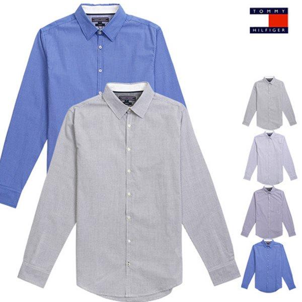 타미힐피거 슬림핏 캐주얼셔츠