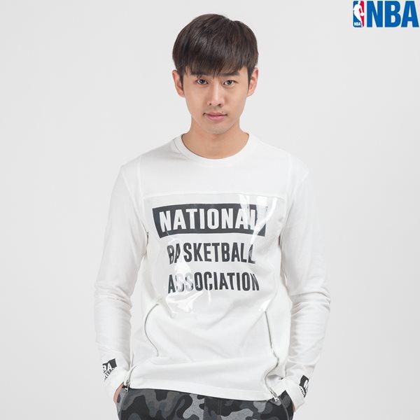 [NBA]NBA PVC 배색 지퍼 디테일 TS(N153TS304P)