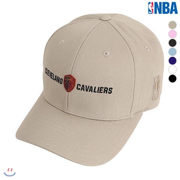 [NBA]CLE CAVALIERS 미니로고실리콘장식HARD CURVED CAP(N185AP030P)