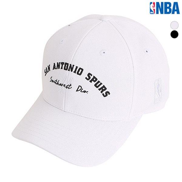 [NBA]SA SPUS 아치형 레터링자수 HARD CURVED CAP(N185AP031P)