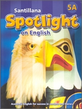 Santillana Spotlight on English 5A : Student Book + Audio CD