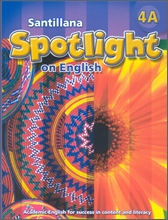 Santillana Spotlight on English 4A : Student Book + Audio CD