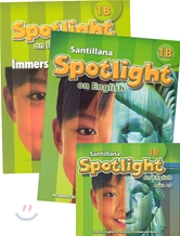 Santillana Spotlight on English 1B Set : Student Book + Immersion Workbook + Audio CD