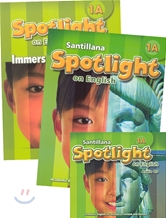 Santillana Spotlight on English 1A Set : Student Book + Immersion Workbook + Audio CD