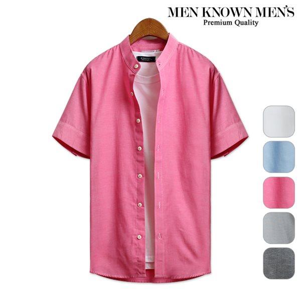 [MKM9]남자 셔츠 베이직한 기본라인 반팔셔츠