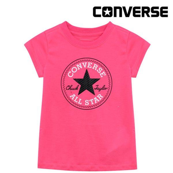 [컨버스키즈]여아척패치 티셔츠(반팔)L  ENM11ATS00 (키즈)