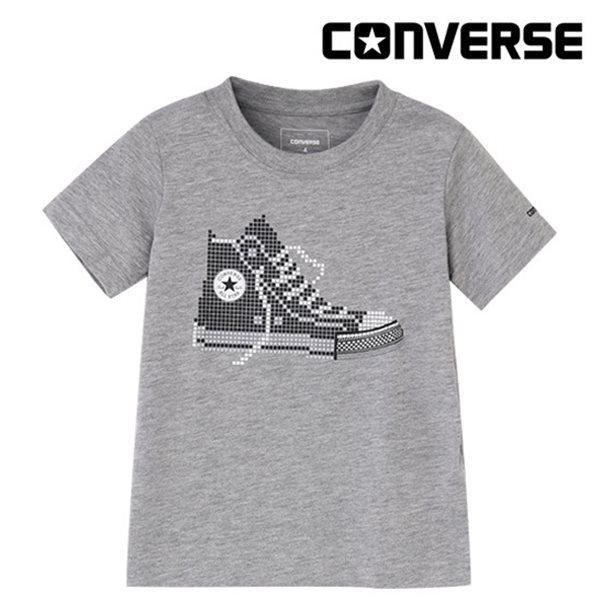 [컨버스키즈] 스니커즈 티셔츠(반팔)L ENM11QTS70 (키즈)
