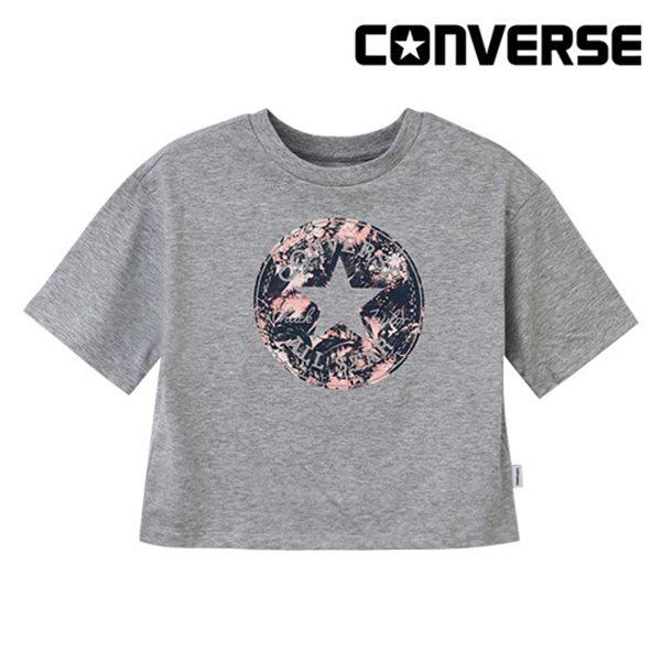 [컨버스키즈] 깃털프린트 티셔츠(반팔)B ENM13ATS68 (주니어)