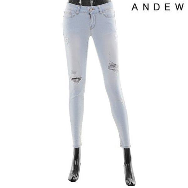 [ANDEW]여성 스노우 구제 스키니 (O152DP510M)