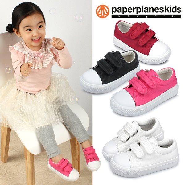 [페이퍼플레인키즈] PK7724 키즈 아동 단화 운동화 아동화 어린이 남아 여아 유아 주니어 슈즈 신발 브랜드