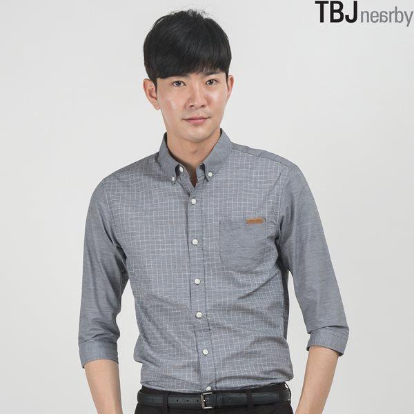 [TBJ]남성 7부 패턴물 셔츠 (T152SH240P)