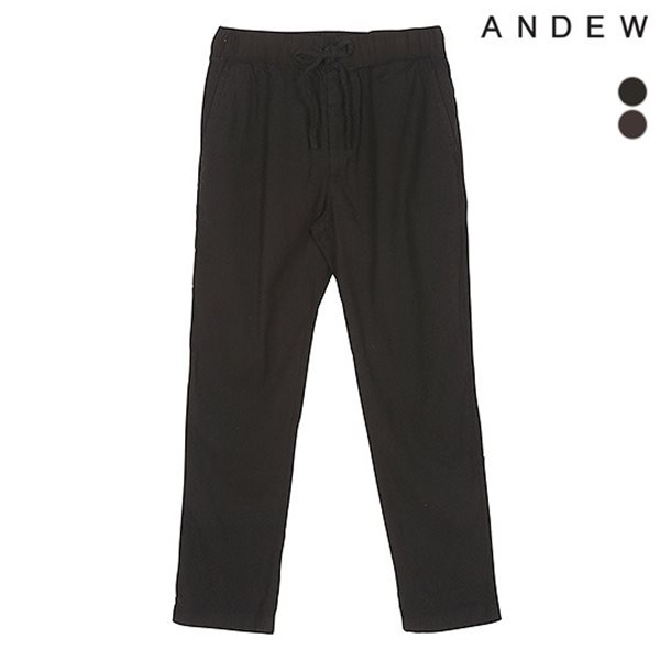 [ANDEW]남성 린넨 밴딩 바지(O152PT450P)