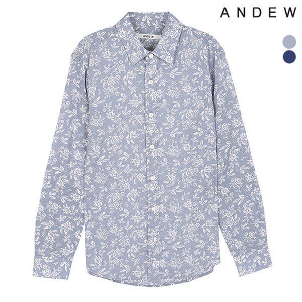 [ANDEW]남성 긴팔 발염 꽃 셔츠(O152SH160M)