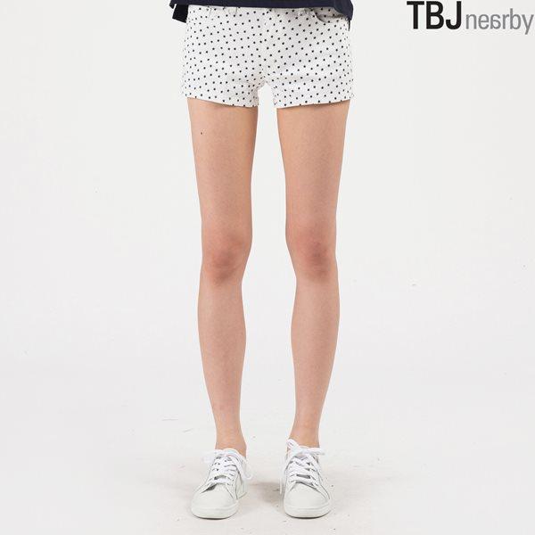[TBJ]여성 숏 패턴물 팬츠(T142PT920P)