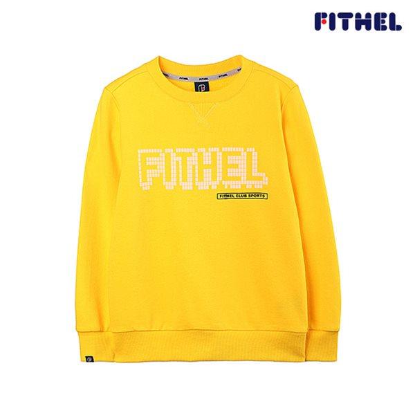 [핏셀]주니어 맨투맨 긴팔 티셔츠 F632MT016YE