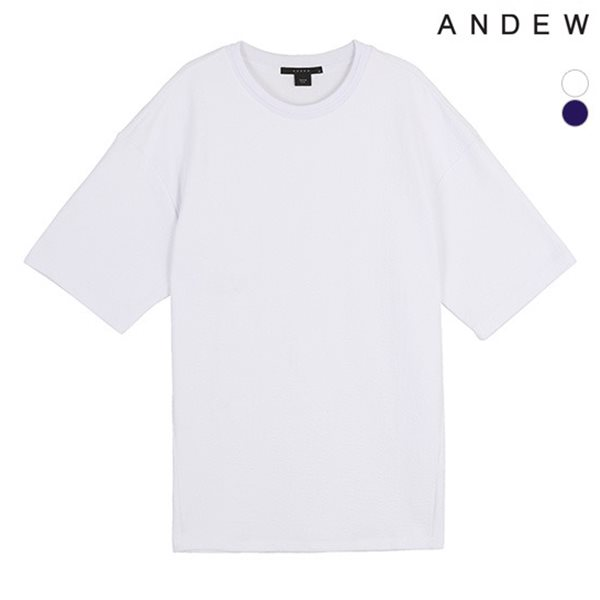 [ANDEW]남성 자카드 솔리드TS(O182TS102P)