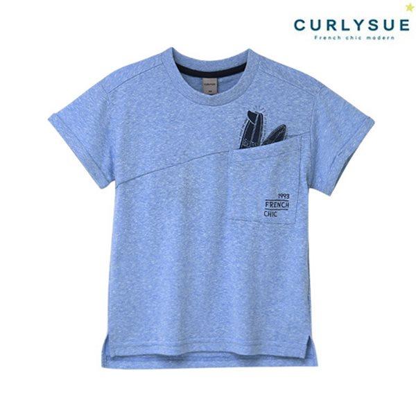 [컬리수] 빅포켓 티셔츠 CNM2GQTS51BL [여름]