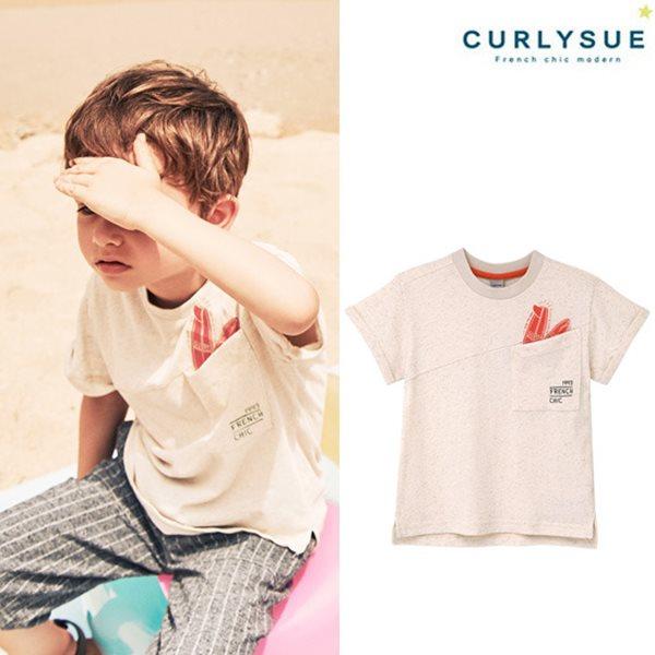 [컬리수] 빅포켓 티셔츠(마혼방) CNM2GQTS51OM [여름]