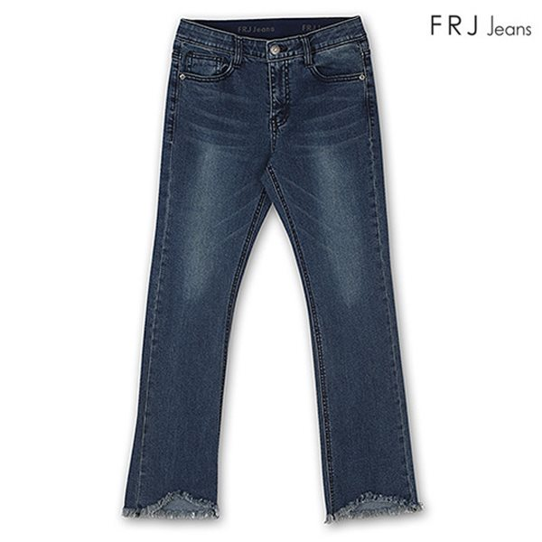 [FRJ] 여성 오비밴딩D톤워싱부컷 DBL (F81F-DP451B)
