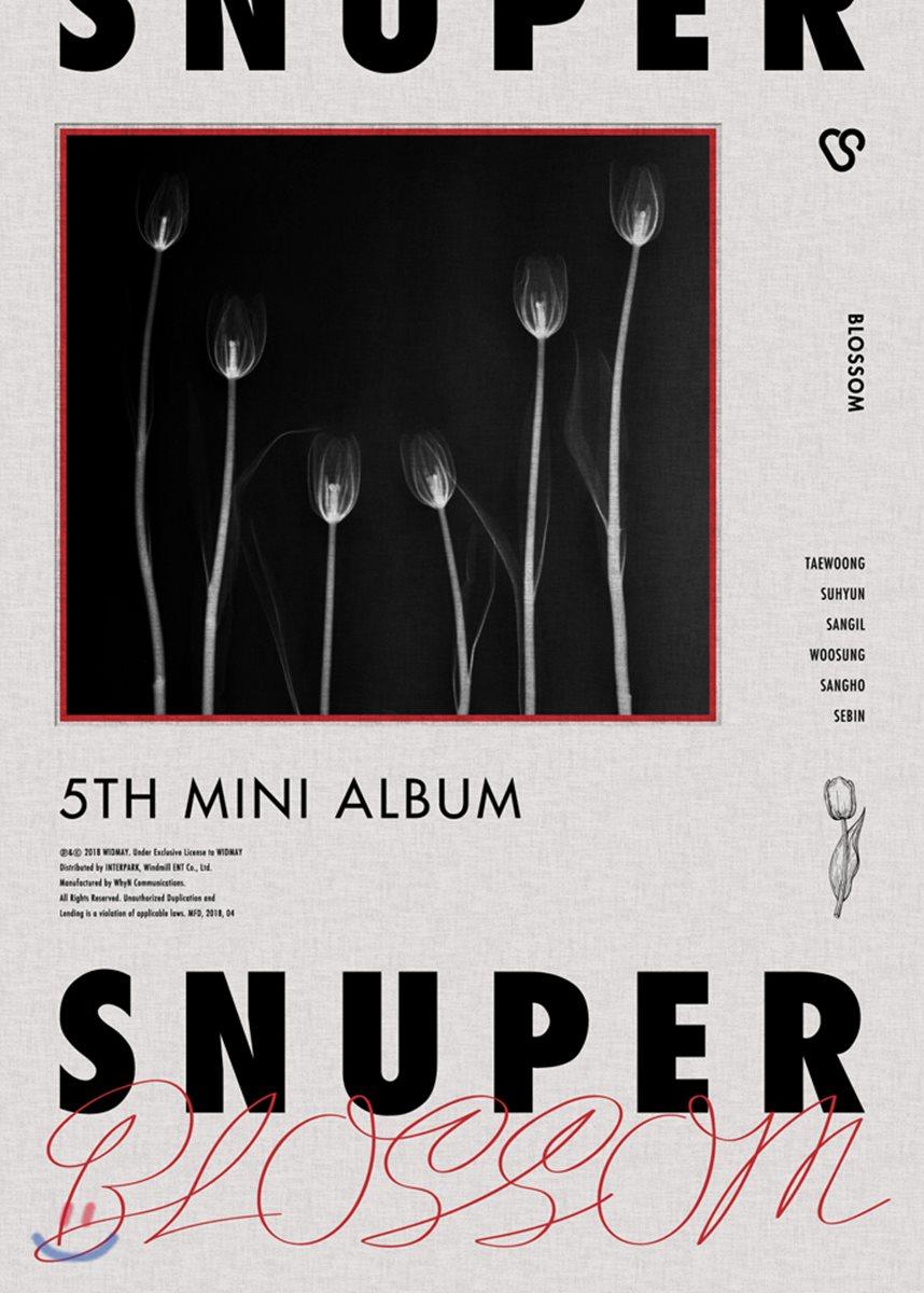 스누퍼 (SNUPER) - 미니앨범 5집 : Blossom