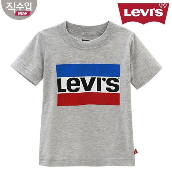 [리바이스키즈] 퍼펙트그래픽 티셔츠(반팔)L VNM11QTS68 (키즈)