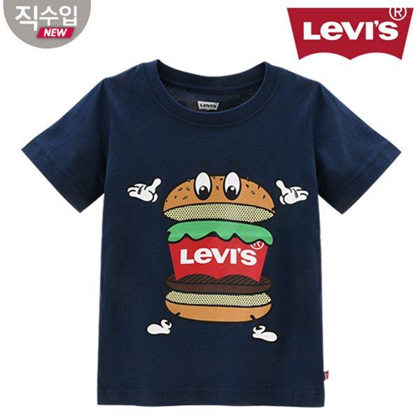 [리바이스키즈] 그래핏A 티셔츠(반팔)B VNM13QTS90 (주니어)