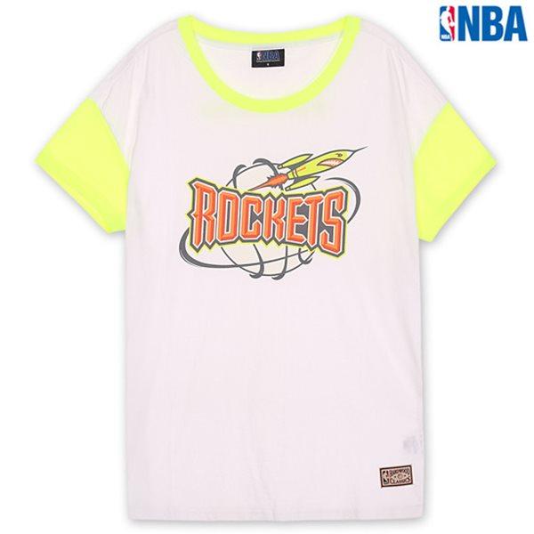 [NBA]HOU 형광배색 DROP소매 TS(N132TS714P)