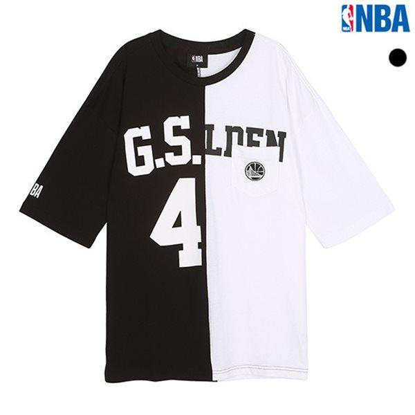 [NBA]GSW WARRIORS 아수라 오버핏 포켓티셔츠(N182TS318P)