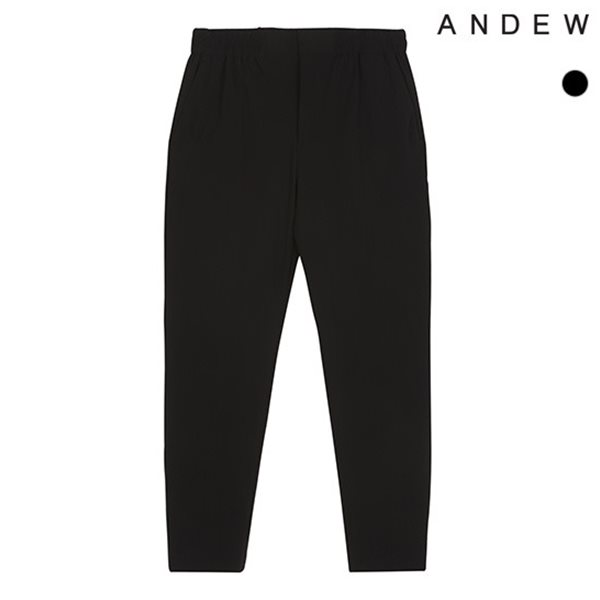 [ANDEW]남성 배기 NP사방스판 밴딩 바지(O182PT310P)