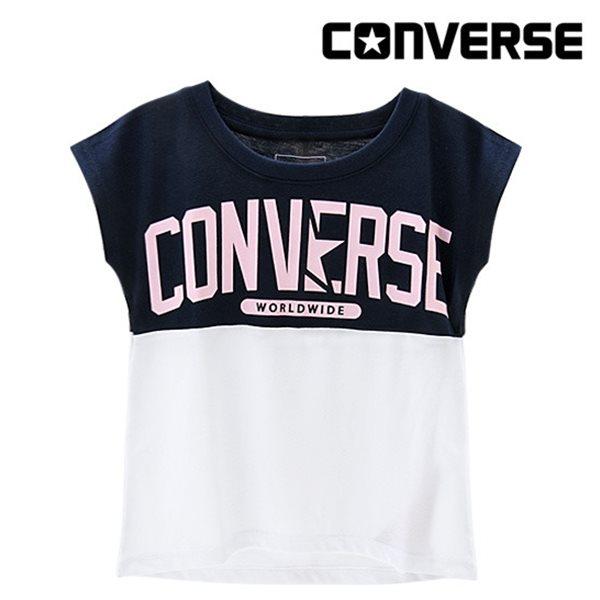 [컨버스키즈] 스플라이스 티셔츠(반팔)L ENM11ATS91 (키즈)