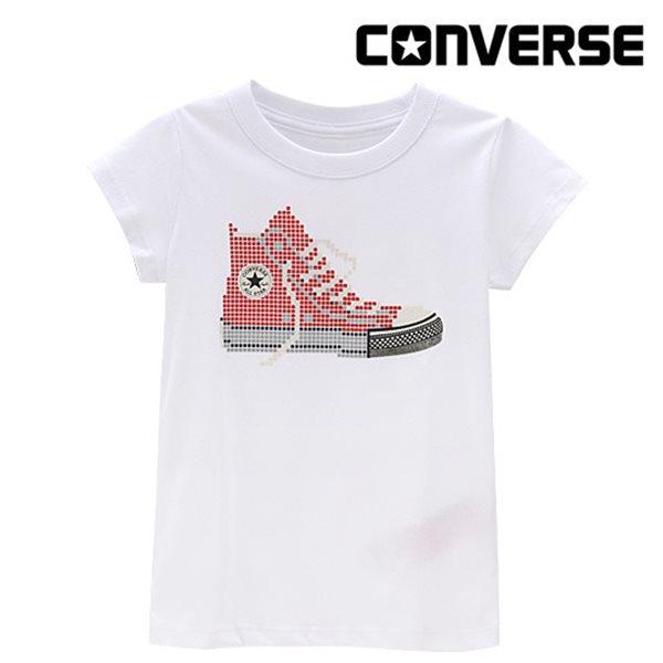 [컨버스키즈] 여아스니커즈 티셔츠(반팔)L ENM11ATS93 (키즈)