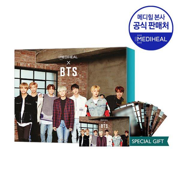 메디힐 X BTS 진정케어 스페셜 세트 (PDF5매+티트리5매+포토카드)