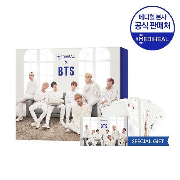 메디힐 X BTS 수분케어 스페셜 세트 (NMF5매+티트리5매+포토카드)