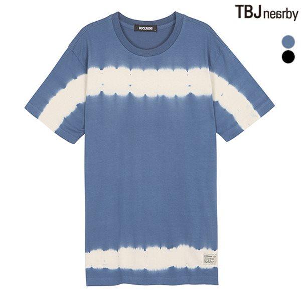 [BUCKAROO]남성 20수 R넥 티셔츠(B182TS250P)