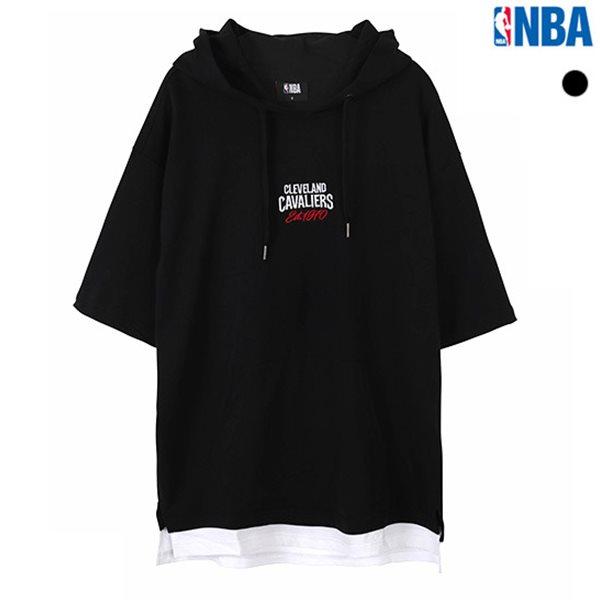 [NBA]CHI BULLS MESH 레이어드 배색 후드(N182TH101P)