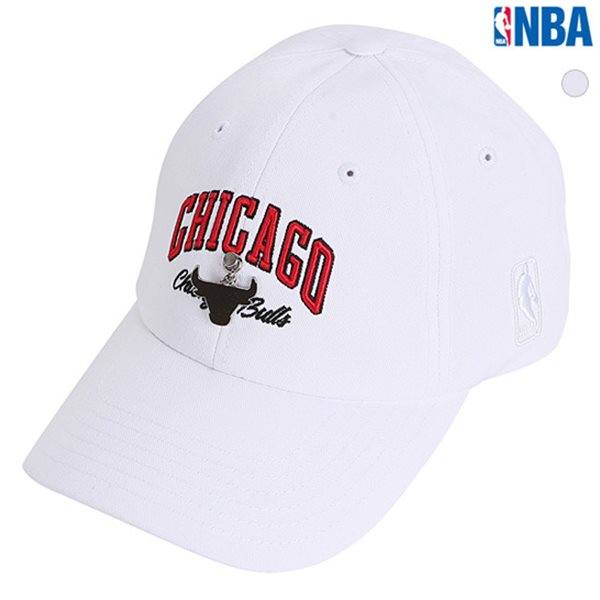 [NBA]CHI BULLS 자수귀걸이장식 SOFT CURVED CAP(N185AP215P)