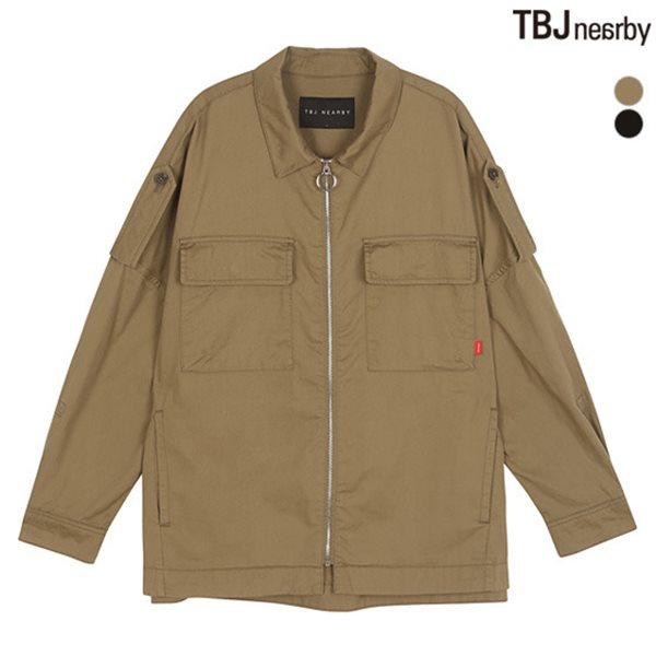 [TBJ]여성 제기장 루즈핏 면셔켓(T182JP620P)