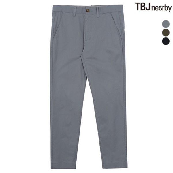 [TBJ]유니 9부 면스판 치노팬츠(T182PT230P)