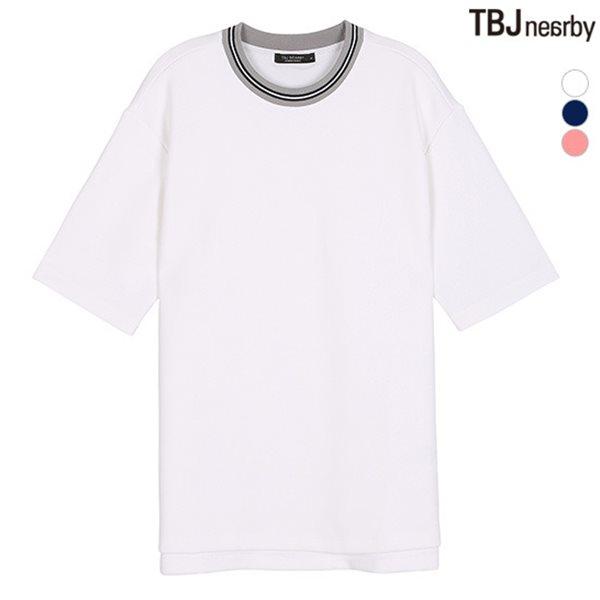 [TBJ]남성 분또 요꼬에리 티셔츠(T182TS003P)