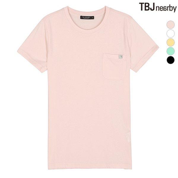 [TBJ]유니 포켓 티셔츠(T182TS020P)