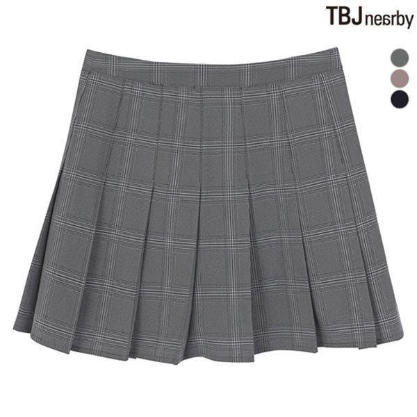 [TBJ]여성 플리츠 스커트(T182SK610P)